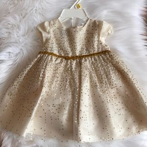 NWT Holiday Editions Champagne Dress